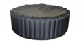 round shaped 6 person spa