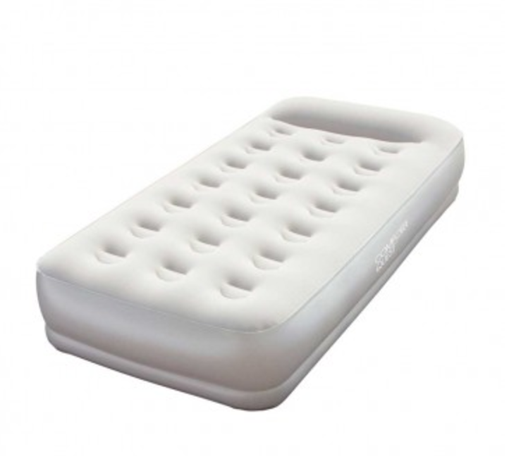 single mattress with pump